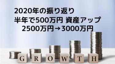 【資産3000万円&貯蓄率60%】わが家の2020年家計・資産推移のサマリー